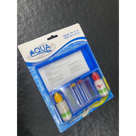 Хlor və pH test kiti Aqua  CL-105
